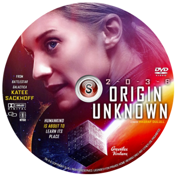 Origin Unknown Cover DVD