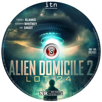 Alien domicile 2 LOT 24  Cover DVD
