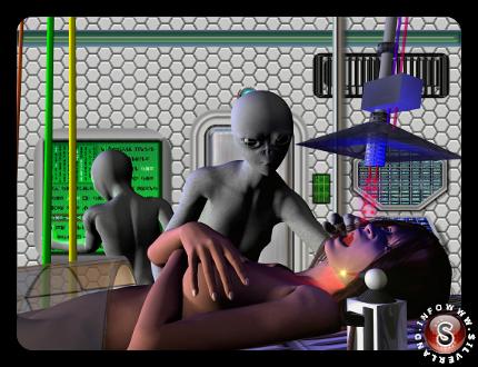 Istallazione impianti alieni ( ricostruzione ipotetica )