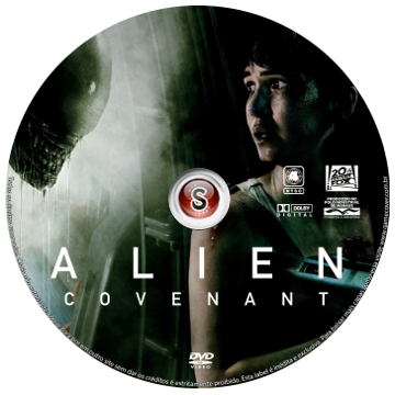 Alien Covenant Cover DVD