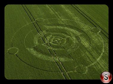 Crop circles Winchester - Hampshire 2017