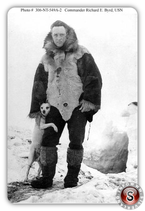 Real-life Indiana Jones Richard E.Byrd in Antarctica
