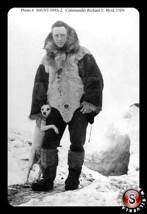 Real-life Indiana Jones Richard E.Byrd in Antarctica