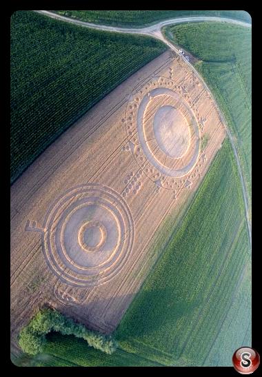Crop circles Marocchi (Poirino), Italy 2014