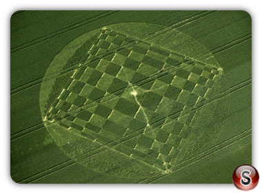 Crop circles - Windmill Hill, Wiltshire 2000