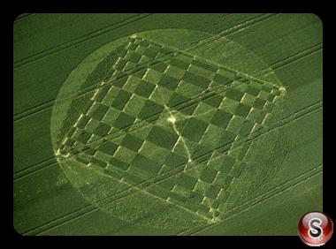 Crop circles - Windmill Hill Wiltshire 2000