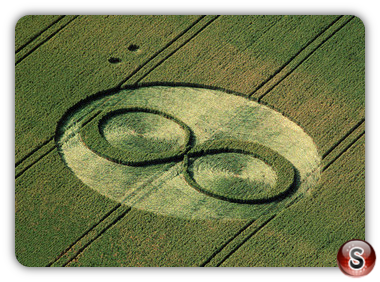 Crop circles - West Overton, Wiltshire 1994