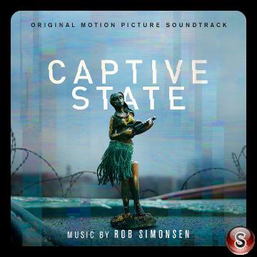 Captive state Soundtrack Cover CD