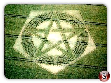Crop circles - Barton Cley 2003
