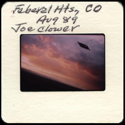 Dagli archivi UFO foto della collezione Wendelle Stevens di Gordon MacDonald