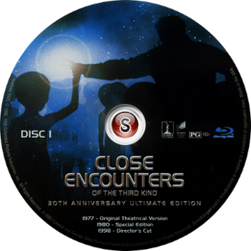 Encounters of the third kind 30 Th Anniversary Cover DVD CD 1