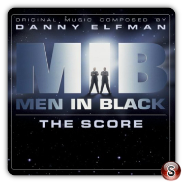 Men in black Soundtracks Cover CD