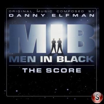 Men in black Soundtrack Cover CD