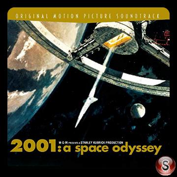 2001: odissea nello spazio Cover CD