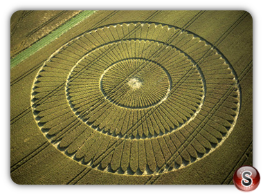 Crop circles - Knoll Down, Wiltshire 2002