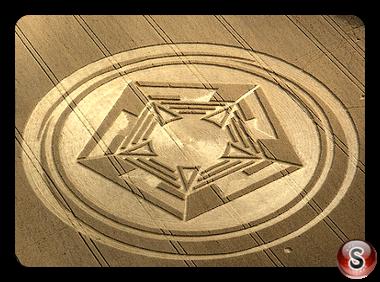Crop Circles Barton Le Clay Bedfordshire 2008