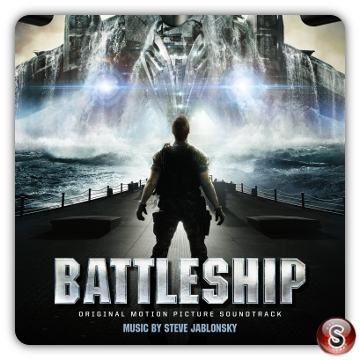 Battleship Soundtrack Cover CD