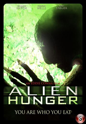 Alien hunger - Locandina - Poster