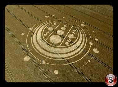Crop circles - Windmill Hill Wiltshire 2009