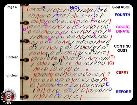 Rendlesham code binary page 4