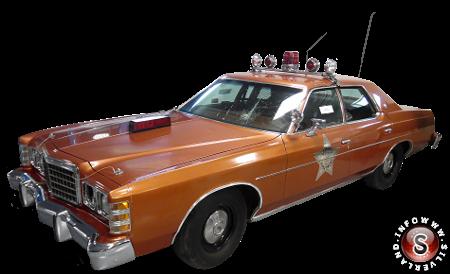 La macchina del vice sceriffo Val Johnson