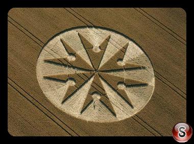 Crop circles - Chute Causeway Tidcombe Wiltshire UK 2013