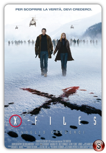 X- files Voglio crederci - X files I want to believe - Locandina - Poster