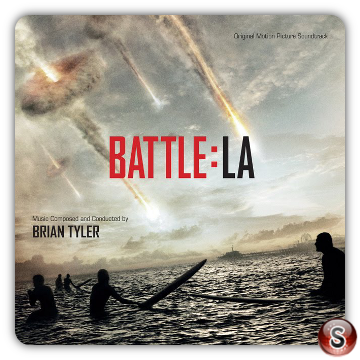 World invasion battle Los Angeles Soundtracks Cover CD