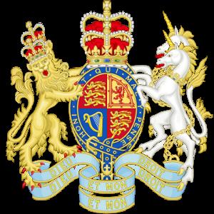 Stemma reale del Regno Unito (Governo HM)