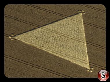 Crop circles - Yatesbury, Wiltshire 1998