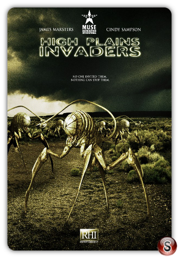 High Plains Invaders - locandina - Poster