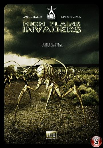 High Plains Invaders - locandina - Poster