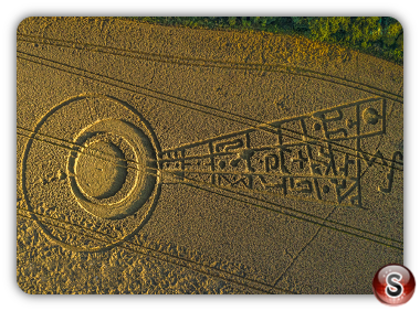Crop circles Sutton Hall - Essex 2017