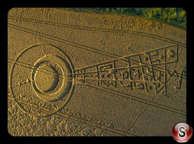 Crop circles - Sutton Hall Essex 2017