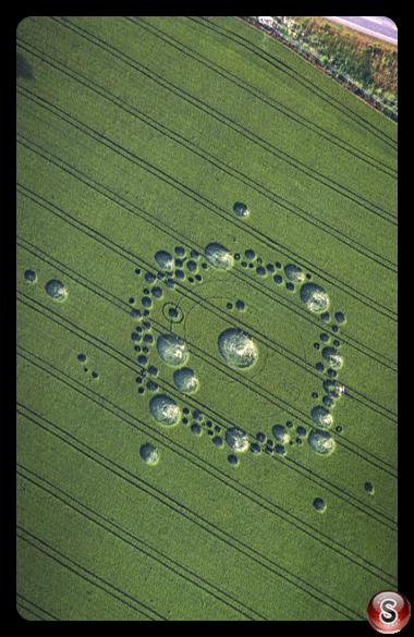 Crop circles - Bishops Sutton Hampshire 1995