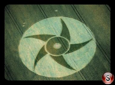 Crop circles - Kingsclere Hampshire 1995