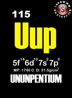 Element 115 - Elemento 115