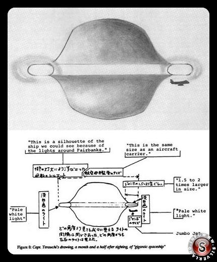 Descrizione dell'oggetto del Capitano Terauchi