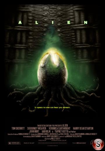 Alien - Locandina - Poster