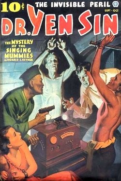 DR. Yen Sin - The mystery of the sing ging mummies by Donald E. Keyhoe