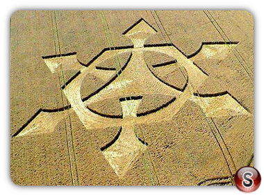 Crop circles - Liddington Castle 2008