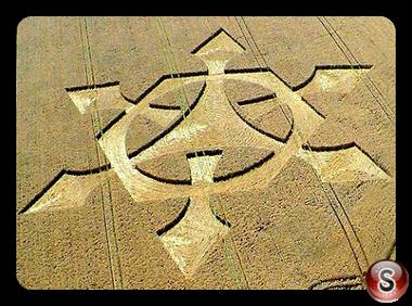 Crop circles - Liddington Castle 2008