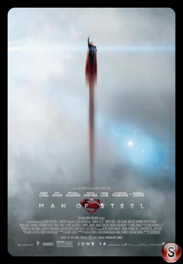 L'uomo d'acciaio - Man of steel - Locandina - Poster