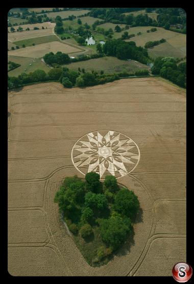 Crop circles Warwickshire 2011