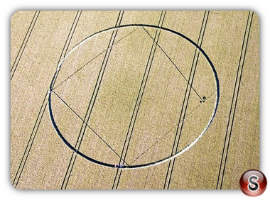 Crop circles - Aldbourne Wiltshire 2012