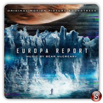 Europa report Soundtrack List Cover CD