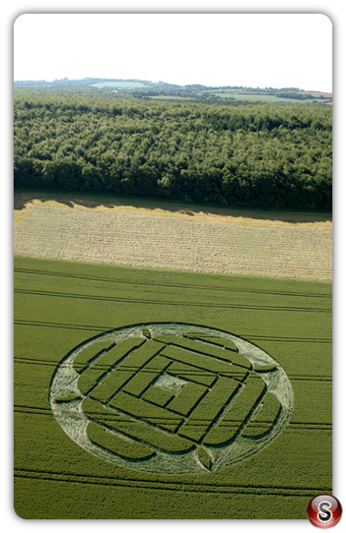 Crop circles - West Woods, Lockeridge, Wiltshire 2005