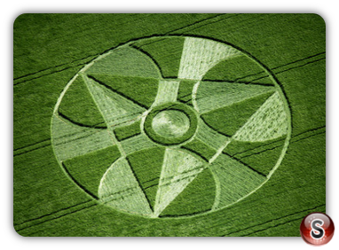 Crop circles - Winterbourne, Bassette, Wiltshire 1997