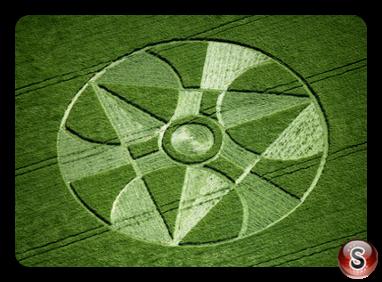 Crop circles - Winterbourne Bassette Wiltshire 1997