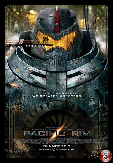 Pacific Rim - Locandina - Poster